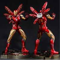Avengers Captain America figure Marvel ironman spiderman Deadpool Danvers Statue