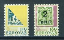 Faroe Islands Stamps Scott # 43-44 Mint NH (S230)