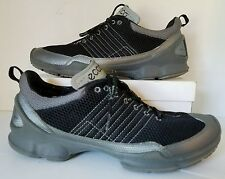 Ecco Biom Train 1.2 Titanium/Blk Engineered Running Shoes Men Sz 12M Retail $190