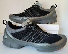 Ecco Biom Train 1.2 Titanium/Blk Engineered Running Shoes Men Sz 12M Retail $190