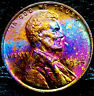 """1944 P Lincoln Wheat Penny Cent- """"Beautiful Toning"""" SUPERB GEM HIGH GRADE #01"""