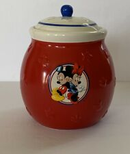 New ListingVintage Disney Mickey Minnie Mouse Cookie Jar Hallmark Collectible