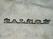 A Vintage 1972-75 Ford Falcon XA, XB Falcon Script Guard or Boot Badge