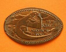 Audubon Zoo elongated penny New Orleans LA USA cent Komodo Dragon souvenir coin