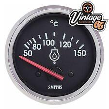 smiths auto d'EPOCA 52mm OLIO tempurature Calibro CORNICE CROMATA CORSA RALLY