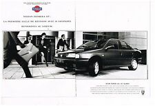 Publicité Advertising 1992 (2 pages) Nissan Primera 2,0 L GT