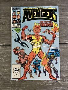 Avengers #258 (1985) Marvel Comics VF NM 9.0