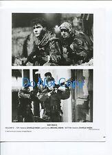 Charlie Sheen Michael Biehn Navy Seals Movie Photo