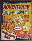 Burger King: The Simpsons 2002  Adventures (Get Cheesy) Leaflet Vol. 13 Issue 9