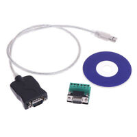 USB2.0 to RS-485 RS-422 DB9 pin female COM Serial Port adapter cable conver PM