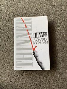 Thinner by Richard Bachman (Hardback, 1st Edition 1984) Stephen King