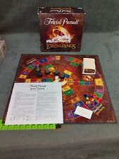 Trivial Pursuit Lord of the Rings Trilogy Collector's Edition Board Game