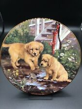 """The Hamilton Collection """"Friend or Foe� 8.25 Signed Plate no. 0477A"""