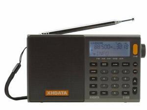 XHDATA world band radio D-808 FM / AM / SW / LW AIR SSB DSP RDS japan