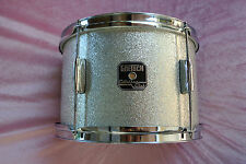 "GRETSCH 12"" CATALINA CLUB SILVER SPARKLE BEBOP TOM for YOUR DRUM SET! LOT #V188"