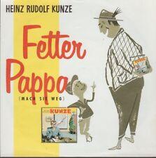 """Heinz Rudolf Kunze Fetter Papa / Einer für alle 1988 WEA 7"""" Single"""