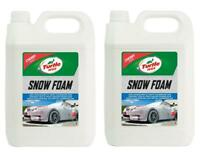 Turtle Wax 53111 Snow Foam Car Shampoo Streak Free Finish 2 X 5L