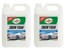 Turtle Wax 53111 Snow Foam Car Shampoo Streak Free Finish 2 X 5L