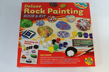 NEW Deluxe Rock Painting Book and Kit By Mud Puddle