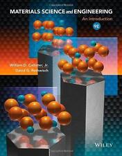 Materials Science and Engineering: An Introduction 9th Edition (Looseleaf US Ed)