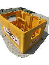 More details for beer crate jupiler yellow 24 x 0.25l man cave / home bar - rare