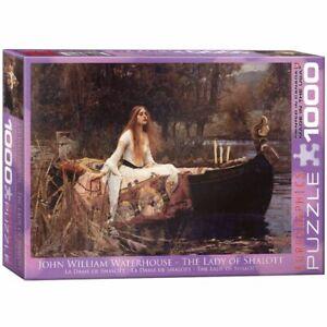 Eurographics 1000 Piece Jigsaw Puzzle Lady of Shalott / Waterhouse EG60001133