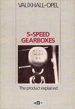 Vauxhall Opel 5-Speed Gearbox 'The Product Explained' 1984-85 UK Brochure