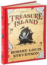 TREASURE ISLAND ~ ROBERT LOUIS STEVENSON ~ ILLUS by NC WYETH ~ LEATHER EDN