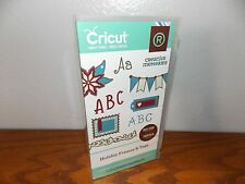 Cricut Holiday Frames & Tags Banner Ribbon Ornate Cartridge Complete Used L0817
