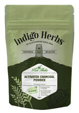 Activated Charcoal Powder 50g from Coconut shells - Indigo Herbs
