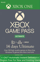 Xbox Game Pass Ultimate 14 Days 2 Weeks for Xbox One XGPU Code Instant Delivery