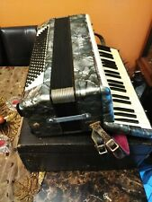 RARE HOHNER VERDI II B 96 BASS ACCORDION WITH CASE TESTED WORKING