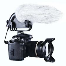 BOYA BY-VM190  Camera Stereo Video Camera Audio Recorder Shotgun Microphone