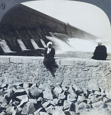 Keystone Stereoview The Great Dam at Assuan, EGYPT from 1910's Education Set # B