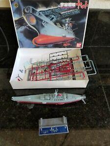 VINTAGE BANDAI SPACE CRUISER YAMATO 6 SPACE SHIP MODEL KITS SET