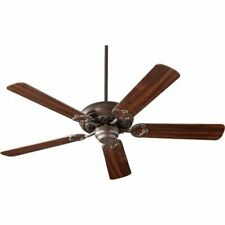 Quorum International Monticello Oiled Bronze 52-Inch Five Blade Ceiling Fan