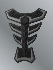 Protege reservoir 3D silicone GRIS noir sticker Yamaha R6 R1 MT09 FZ8 FZ1 MT10