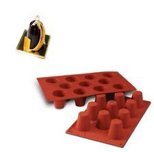 Silikomart Stampo 11 Baba' 45 mm Sf020 dolci Torta Silicone professionale
