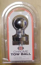 Aunger Chrome Tow Ball 3.5T 50mm For Towing Trailer Caravan 4WD Toyota Nissan