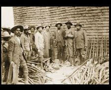 Francisco Pancho Villa 1914 Army PHOTO Holding Rifle Mexican Revolution General