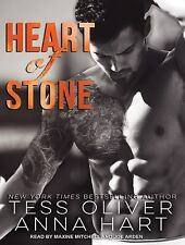 Stone Brothers: Heart of Stone 2 by Tess Oliver and Anna Hart (2015, MP3 CD, Un…