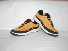 Men's Wilson Gold Black Leather Fashion Athletic Sneakers Size 9 D