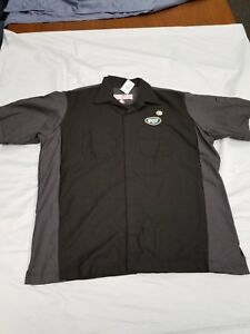 *NEW* NFL Team Apparel New York Jets Shirt Men's Sz M, XL Football