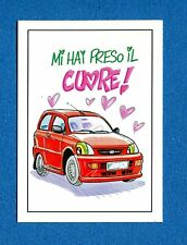AUTO E MOTO IN CARICATURA -Edigamma- Figurina-Sticker n. 36 - DAIHATSU CUORE-New