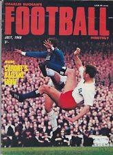 CHARLES BUCHAN'S FOOTBALL MONTHLY JULY 1968 WEST BROMWICH ALBION MANCHESTER CITY