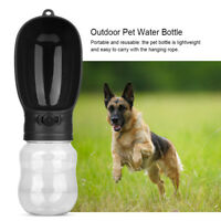 Portable Pet Water Bottle Dispenser for Dog Cat Travel Feeder Tray Bowl BPA-Free