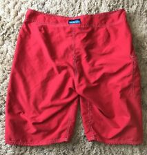 KAVU RED MENS SWIM SHORTS SIZE L
