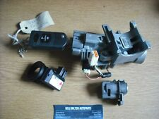 A GENUINE MAZDA CX-7 2.3 CDTI  STEERING IGNITION BARREL AND KEY WITH CHIP SENSOR