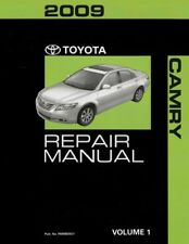 2009 Toyota Camry Shop Service Repair Manual Volume 1 Only