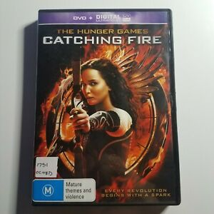 The Hunger Games: Catching Fire   DVD Movie   Jennifer Lawrence, Josh Hutcherson